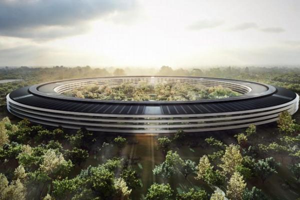 O mais novo campus da Apple inclui 9.000 árvores