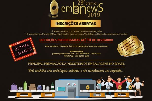 28º Prêmio Brasileiro de Embalagem – Embanews