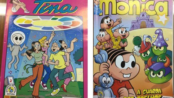 Turma da Mônica promove as embalagens de papel