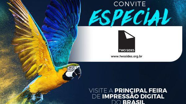Você é nosso convidado para visitar a FESPA Brasil | Digital Printing