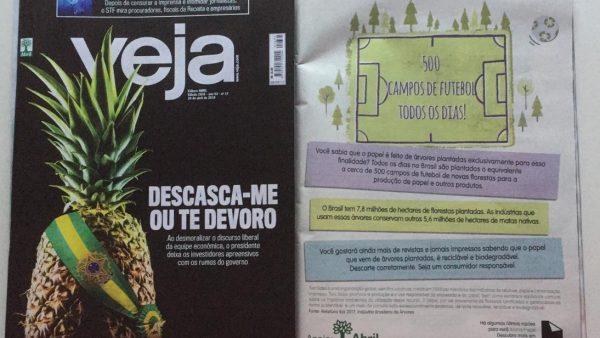 Two Sides na Revista Veja