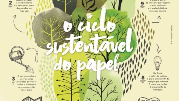 Ciclo sustentável do papel chega às escolas