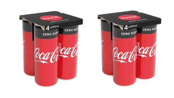 Coca-Cola substitui plástico por papel cartão