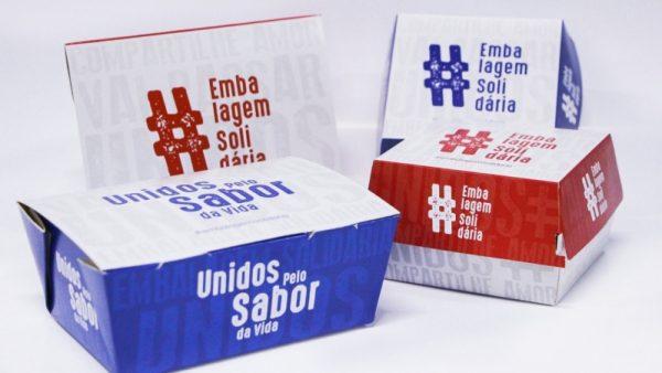 """Ibema e gráfica Tuicial doam """"embalagem solidária"""""""