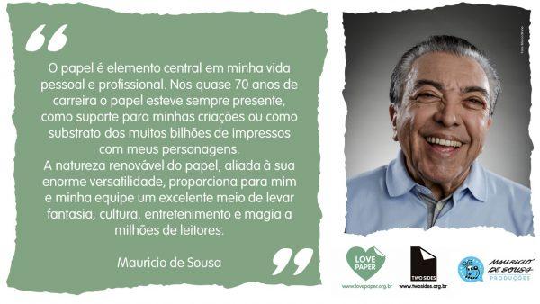 Mauricio de Sousa e o papel