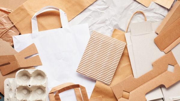 A embalagem de papel é atrativa, impactante e eficaz