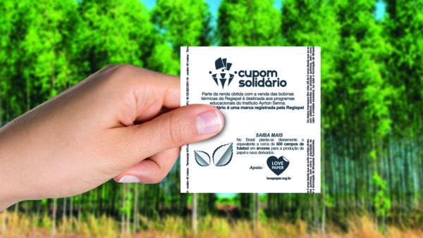 Cupons fiscais divulgarão preservação do meio ambiente