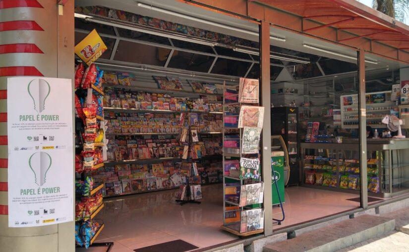 Love Paper nas bancas de todo o Brasil