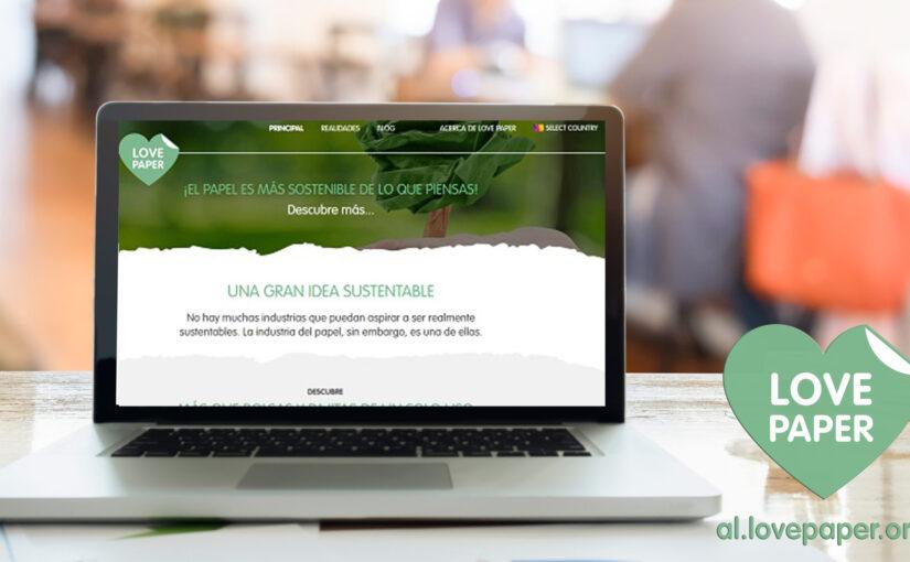 Novo site Love Paper América Latina